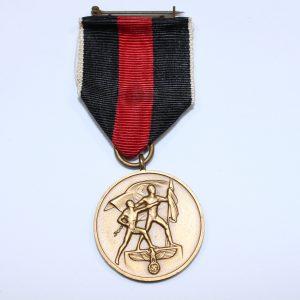 anexion los sudetes medalla