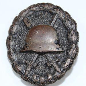 Insignia Herido en negro WWI