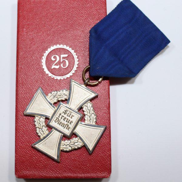25 años de leal servicio categoría plata