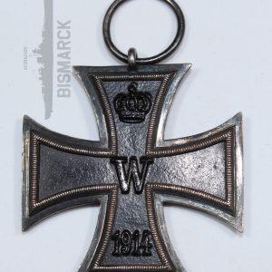 cruz de hierro 2ª clase ek2 1914