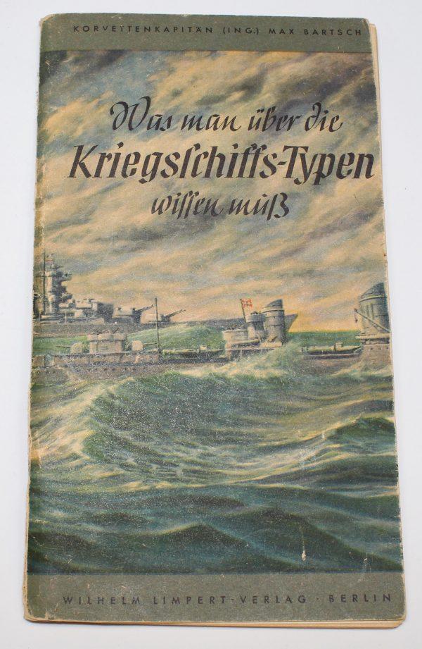 libro buques de guerra alemanes