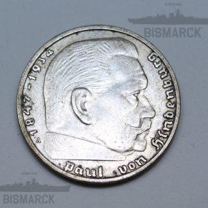 2 reichsmarck 1938 iii reich
