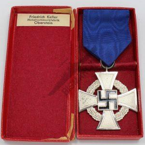 medalla 25 años de leal servicio