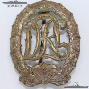 insignia deportiva drl plata