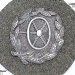 insignia conductor de la wehrmach plata
