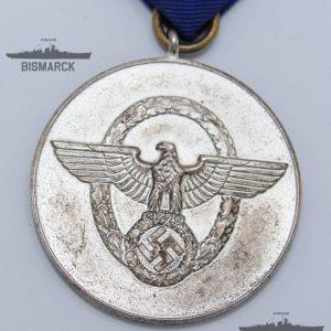 medalla 8 años en la policía iii reich
