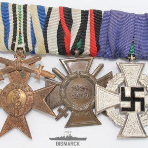 pasador tres medallas alemanas