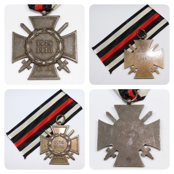 Medalla Cruz de Honor 1914 1918