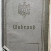 Wehrpass de la Wehrmacht