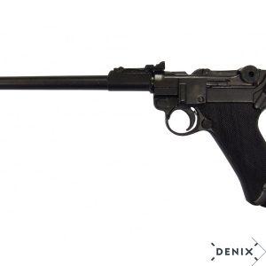 Pistola Luger P08 Parabelum modelo artillería