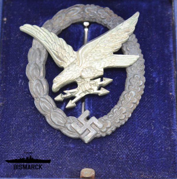 Distintivo Radiotelegrafista, Ametrallador y Mecánico de la Luftwaffe