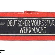 Brazalete Deutscher Volkssturm Wehrmacht