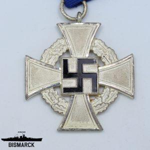 Medalla 25 años por leal servicio en el III Reich