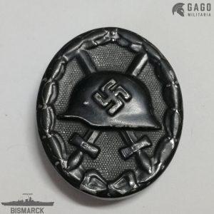 Insignia Herido en Negro 1939