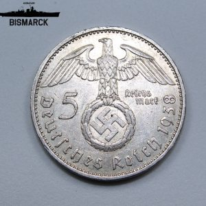5 Reichsmark de 1938