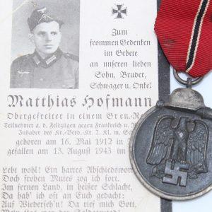 Medalla del Frente Oriental 1941/42