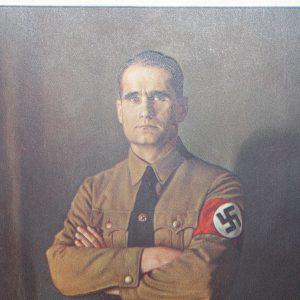 Cartel retrato Rudolf Hess