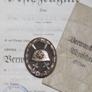 Insignia Herido categoría plata