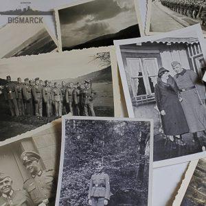 Lote 23 fotografías de la Segunda Guerra Mundial