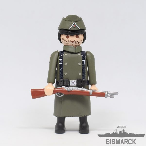 Click Customizado Soldado Division Azul