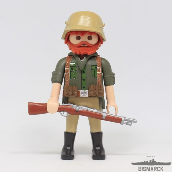 Click Customizado Soldado Africa Korps