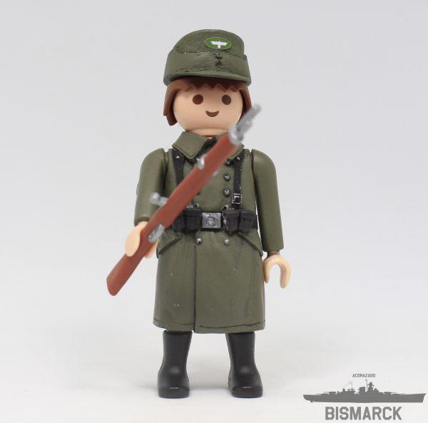 Click Customizado Soldado Wehrmacht