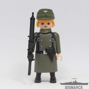 Click Customizado Soldado Wehrmacht con MG 08