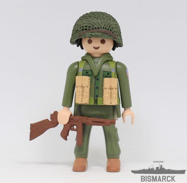 Click Customizado soldado USA