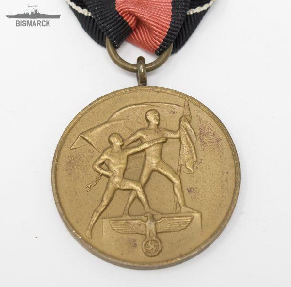 Medalla por la Anexión de los Sudetes