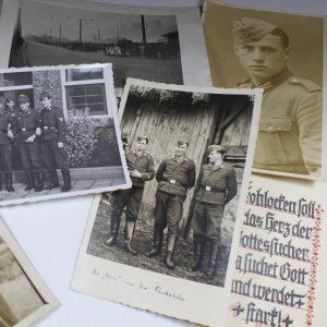 Lote 12 fotografías de la Segunda Guerra Mundial