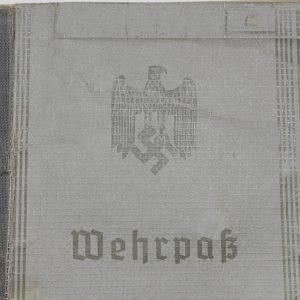 Wehrpass del Heer_2
