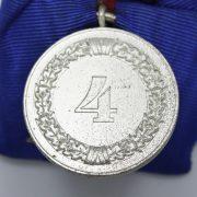 Medalla Largo Servicio en la Wehrmacht 4 años