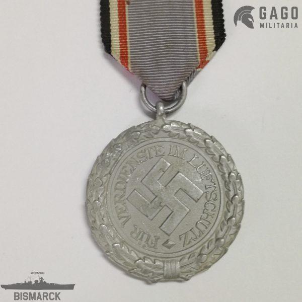 Medalla Luftschutz 1938