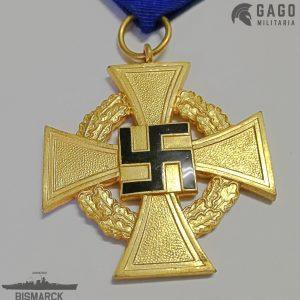 Medalla 40 años Leal Servicio