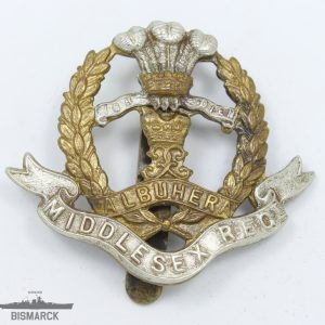 Insignia Gorra Regimiento Middlesex Regiment