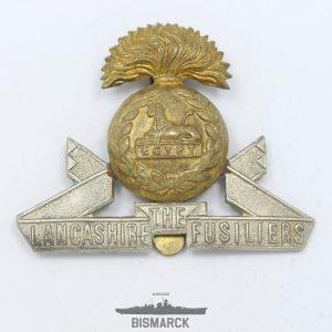 Insignia Gorra Regimiento Fusileros de Lancashire