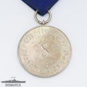 Medalla 8 años en la Policia