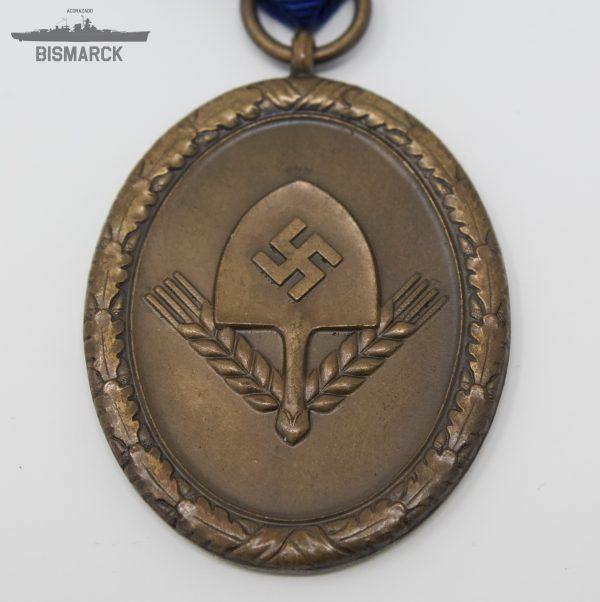 Medalla del RAD en bronce