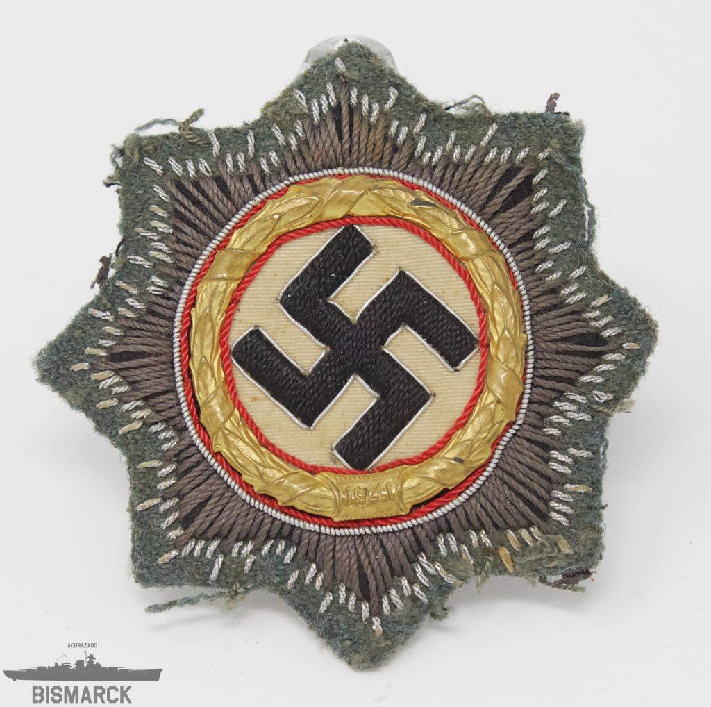 Cruz Alemana en Oro kriegsorden
