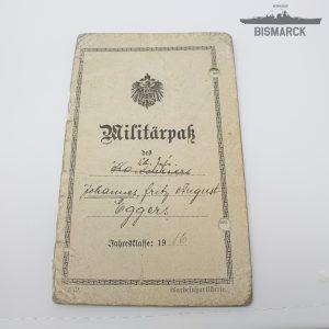Militarpass 1916