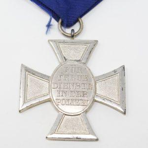 Medalla 18 años de Servicio en la Policia