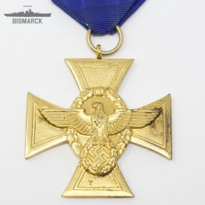 Medalla 25 años de Servicio en la Policia