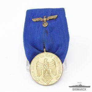 Medalla 12 años de Servicio en la Wehrmacht