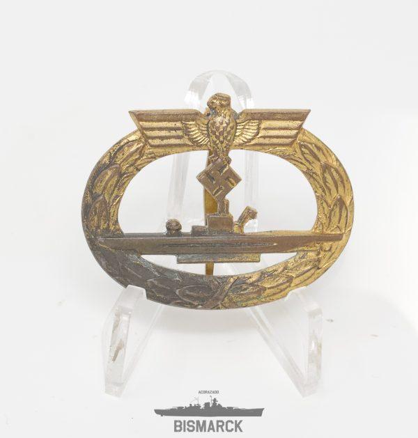 Distintivo Combate Submarinos Bacqueville