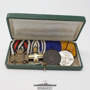 Pasador 4 Medallas SS