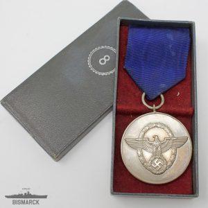 Medalla 8 años Servicio en la Policia
