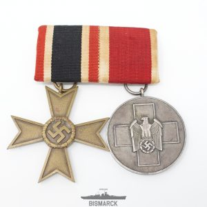 Pasador con KVK y Auxilio al Pueblo Aleman