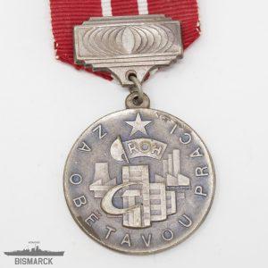 Medalla por la Dedicación al Trabajo