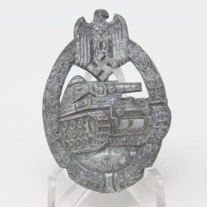 Distintivo Combate Panzer cat plata ref02