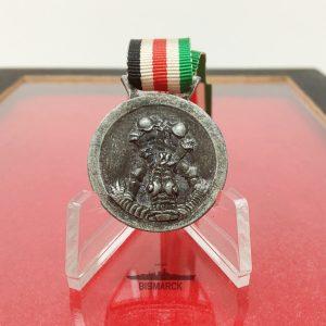 Medalla Campaña Italo-Alemana en Africa ref01